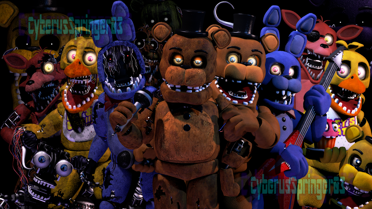 Unwithered Animatronics Models By - 0425