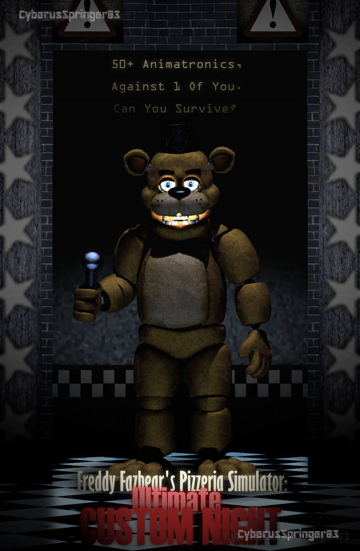 Freddys Animations Ultimate Custom Night — BCMA