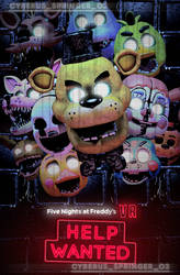 FNaF VR: Help Wanted Poster! (SFM/Edit) by CyberusSpringer03