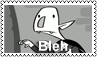 Bleh Stamp by EdgeLordess