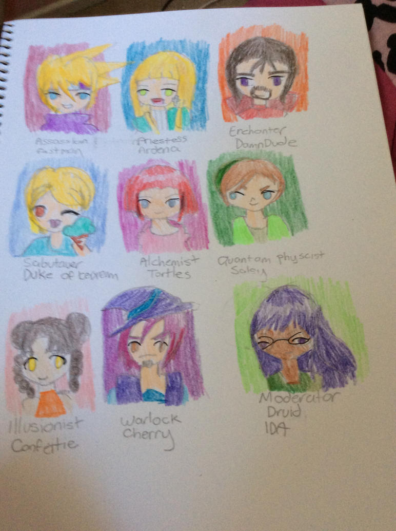 BGO Friends (and enemies) Part II by Chibifangirl01