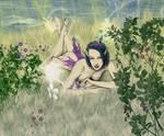 Brushplay Mischievous Fairy by EdgeLordess