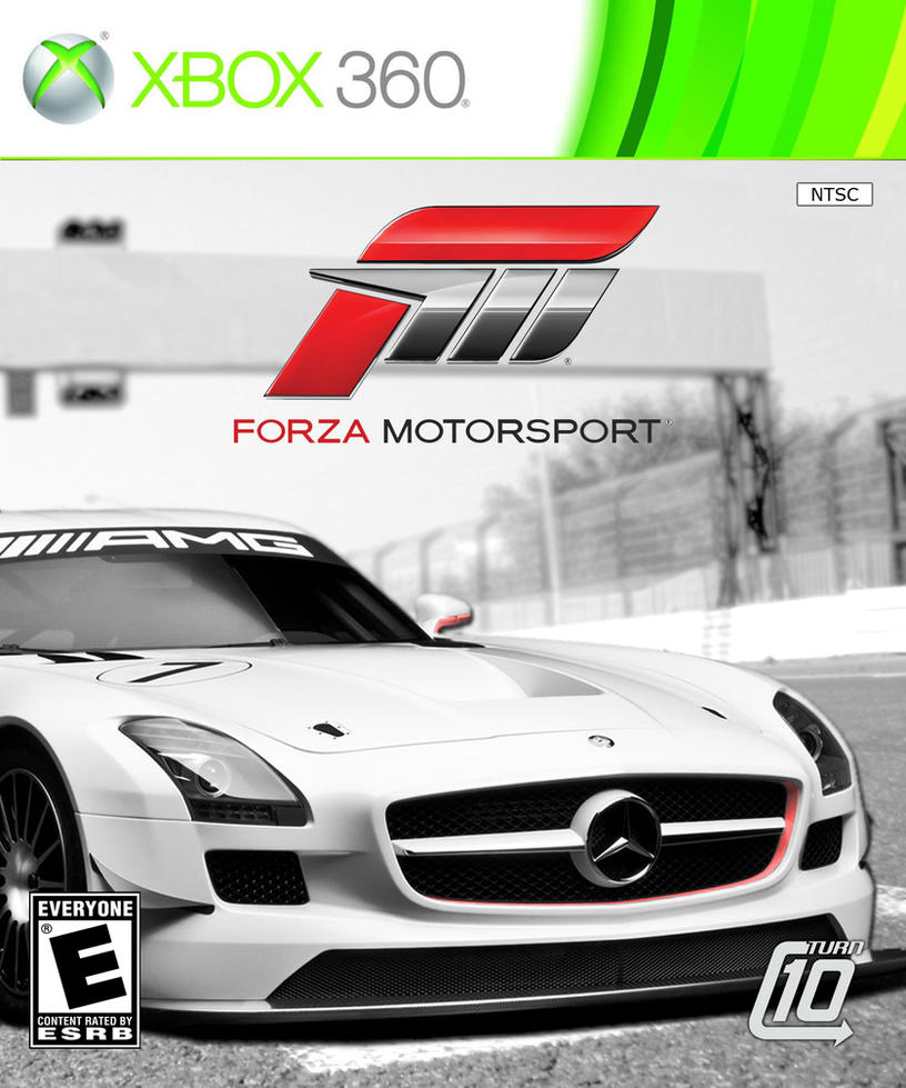 Forza Motorsport SLS AMG Cover By Fsparks