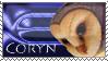 Coryn fan stamp