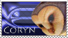 Coryn fan stamp by ekoru