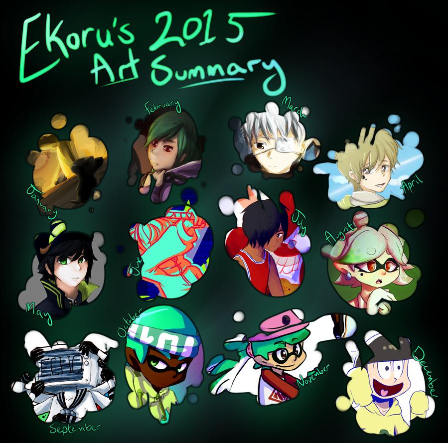 2015 Art Summary by ekoru
