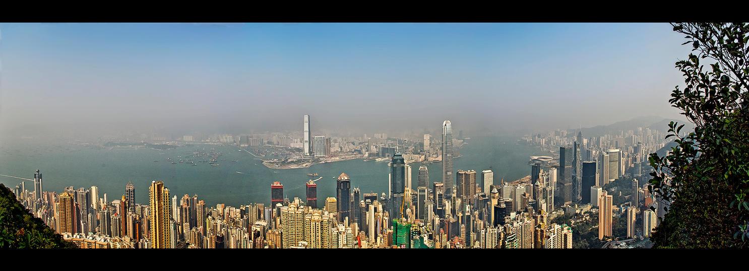 HK Skyline by WiDoWm4k3r