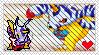 Digimon - Gabumon Stamp by Colonel-Chicken