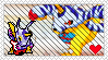 Digimon - Gabumon Stamp by Colonel-Chicken