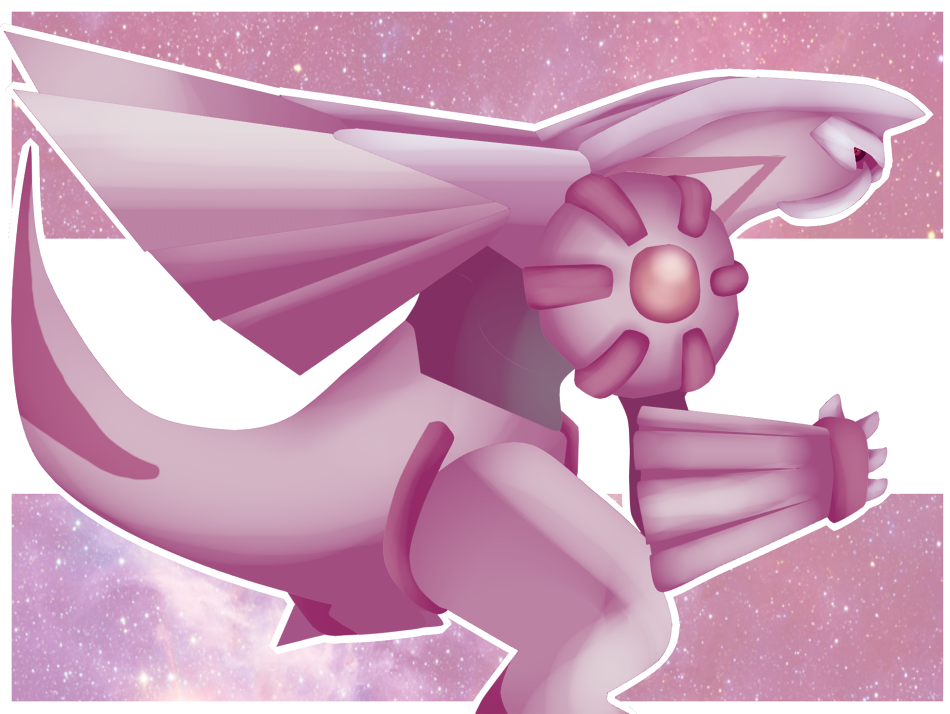 Pink Space Dragon by Colonel-Chicken