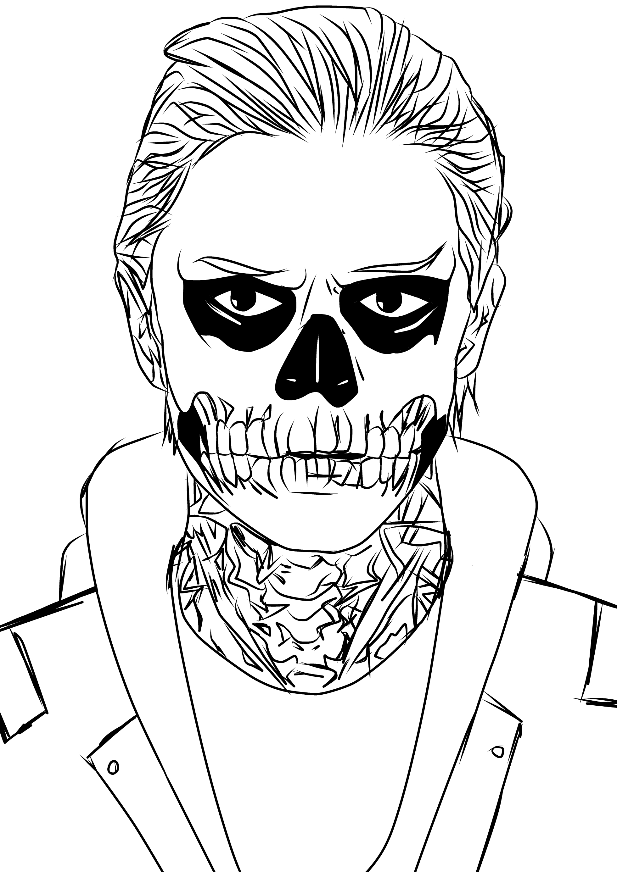 coloring pages from horror movies - photo#36