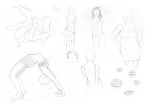 Sketch dump I