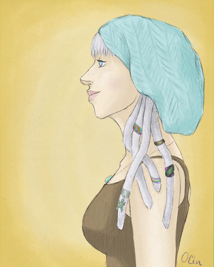 Bohohoho girl by OlinemJestem
