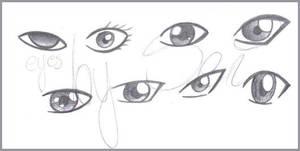 Anime Eyes by OlinemJestem