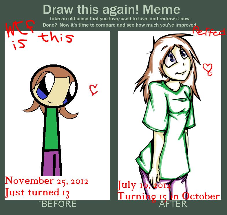 Improvement Meme by DeadMooseMarch