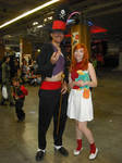 Cosplay Candace Flynn (PandF) with Dr Facilier