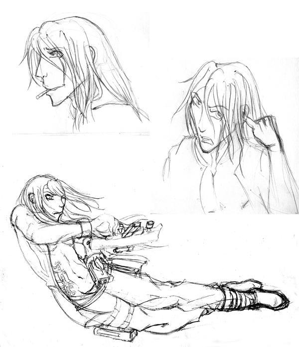 FANARTS d'Ekoï! the Return! Sketch___Lightrash_by_Fura01