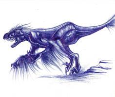 Utahraptor by Fura-Falevan