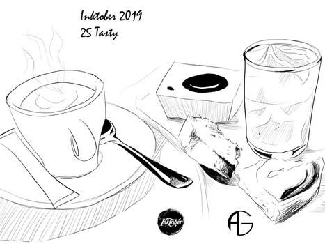 Inktober 2019 : Tasty