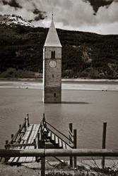 The spire of a sunken village by N1cn4c