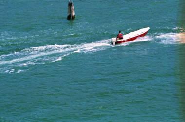 Barca a Venezia