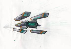 Spaceship sketch 01