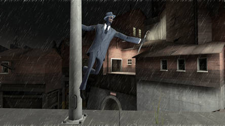 Singing in the Rain by PrincessBloodyMary
