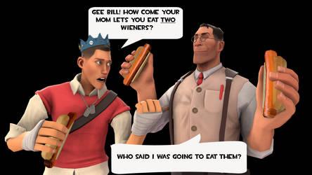 Wiener by PrincessBloodyMary