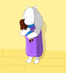Hug the child! by Koretato