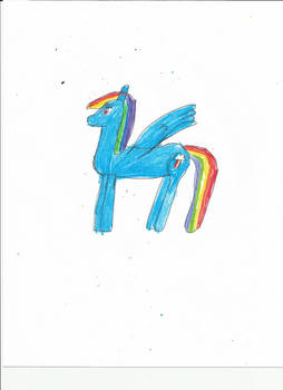 Another Rainbow dash drawing-1