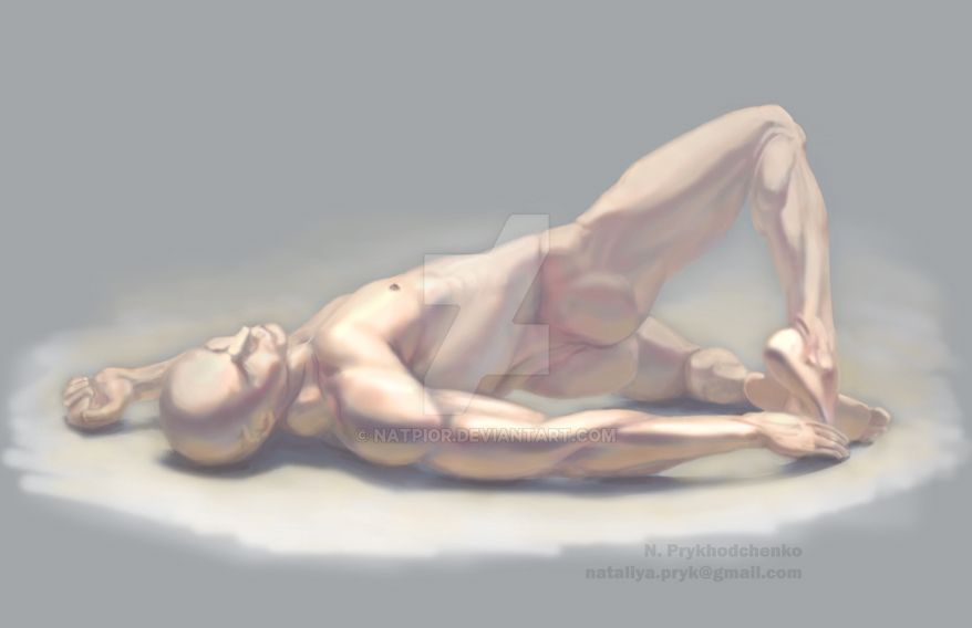 Anatomy study by NatPioR