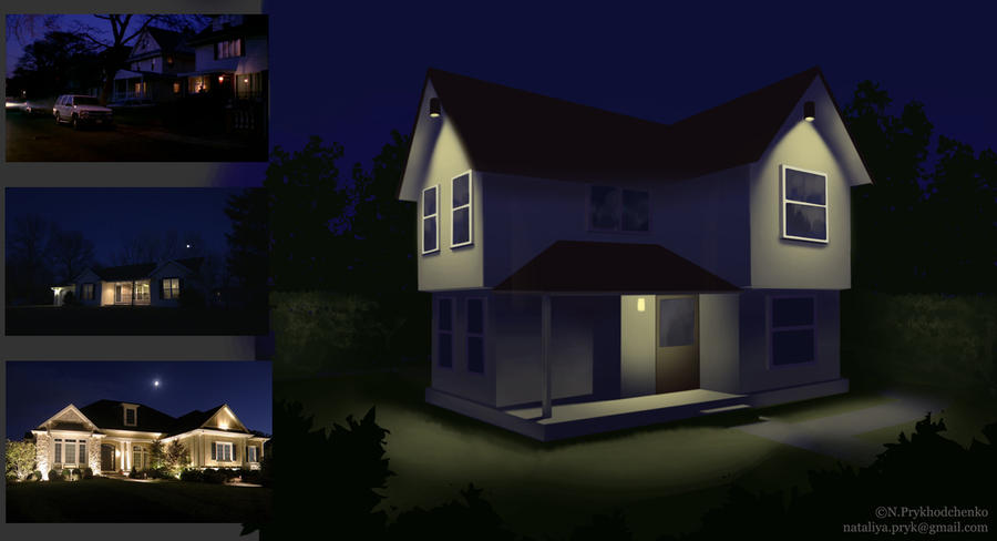 House - mood training - Night by NatPioR