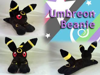 Umbreon Beanie Plush by Yunalicia