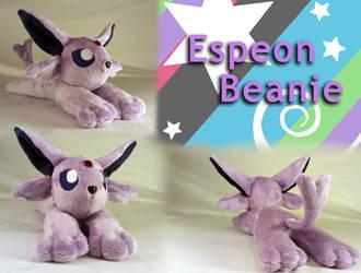 Espeon Beanie Plush by Yunalicia