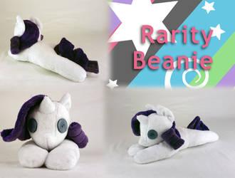 Rarity Beanie Plush (for Sale!) by Yunalicia