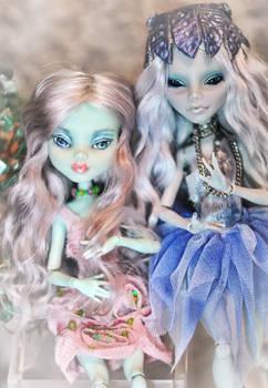 Franky and Alien by Semitsvetik