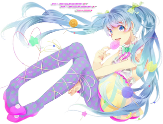 MikuH'Render}'~ by PartyxGlam