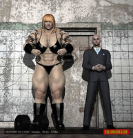 Heather Williams, wrestler - 7ft 2in - 370lbs - 01 by theamazonclub