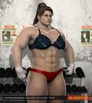 Daphne Krueger - female bodybuilder - 8ft 4in - 02