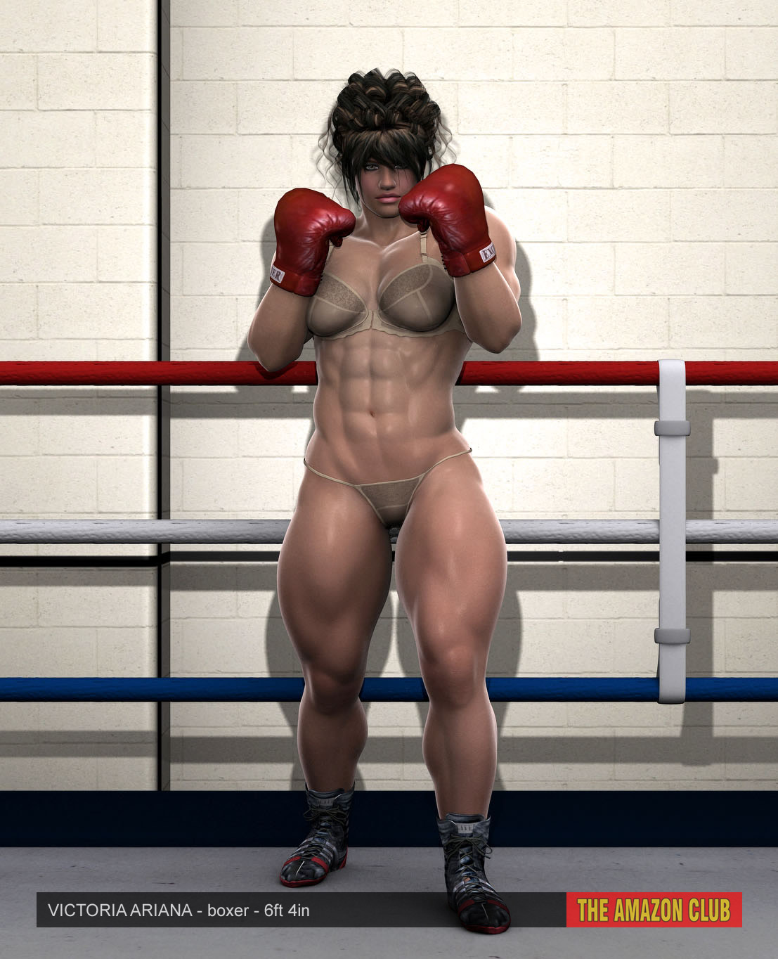 Muscle women 3d video sex movie