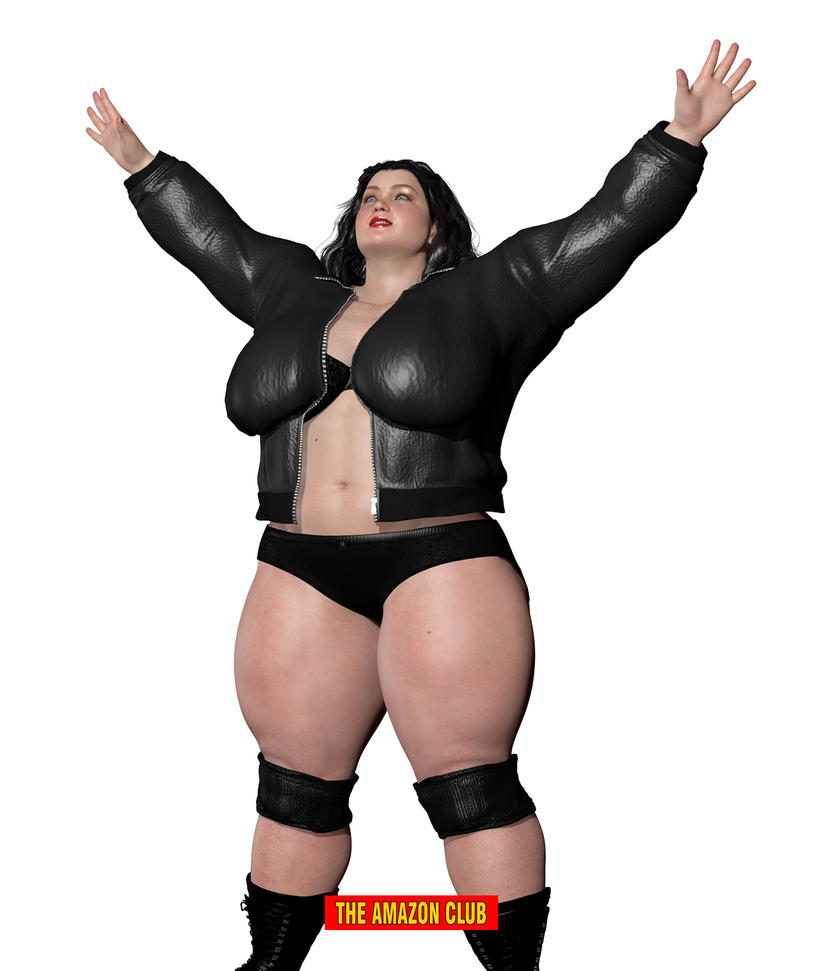 Large woman wrestler by theamazonclub