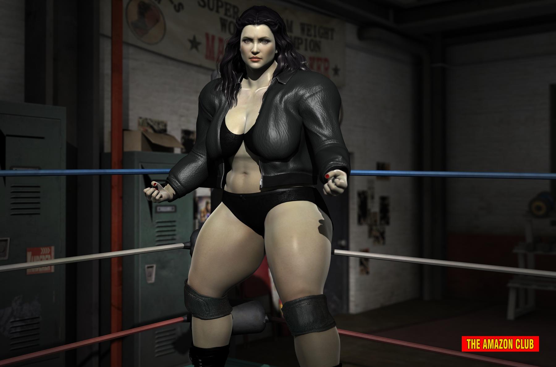 Sexy Bodybuilder Wrestler 52