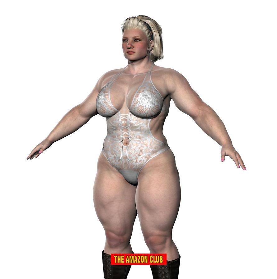 Amazon female wrestler by theamazonclub