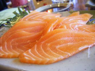 Sake Sashimi by eatsoupwithsticks