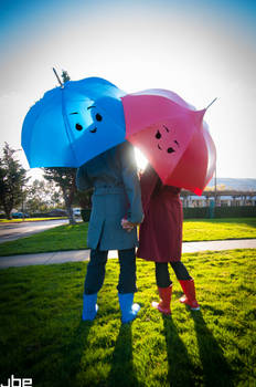 The Blue Umbrella Cosplay