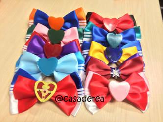 Sailor Moon Hair Bow by eatsoupwithsticks