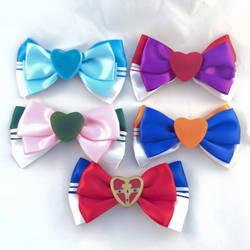 Sailor Moon Inner Senshi Hair Bows