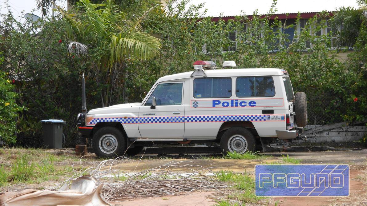 Toyota Land Cruiser (J70) Queensland Police 4WD by pfgun0 on DeviantArt