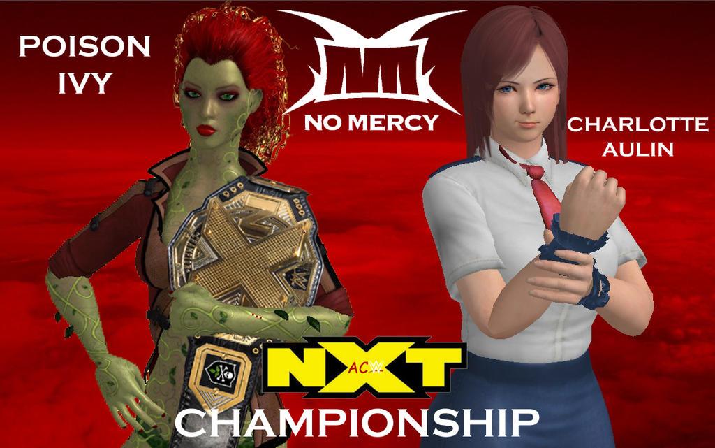 No Mercy 2017 - NXT Championship by JoeyTribbiani125