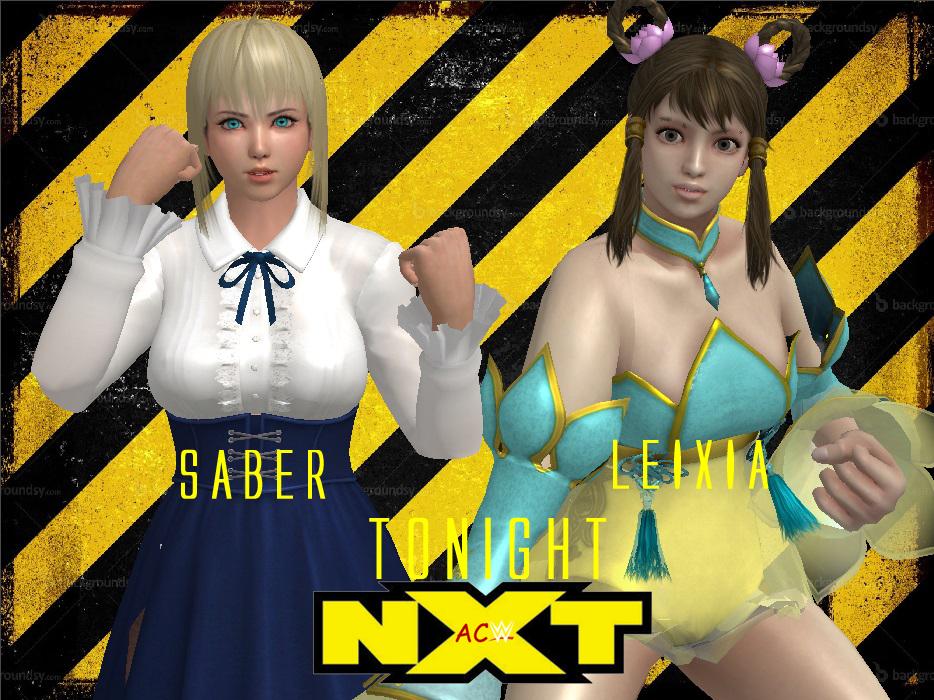 ACW NXT - Saber vs Leixia by JoeyTribbiani125
